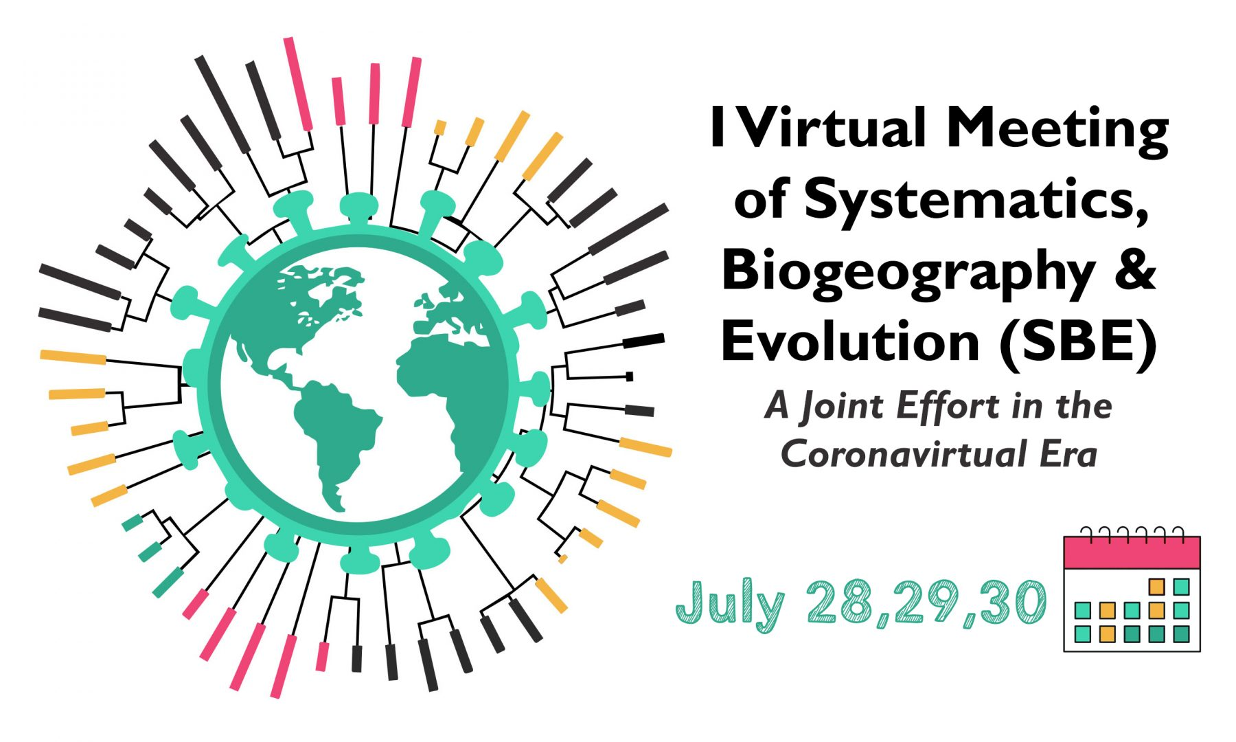 I Meeting of Systematics, Biogeography and Evolution (SBE): a joint effort in the coronavirtual era
